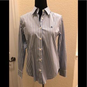 Blue Stripped Ralph Lauren Shirt